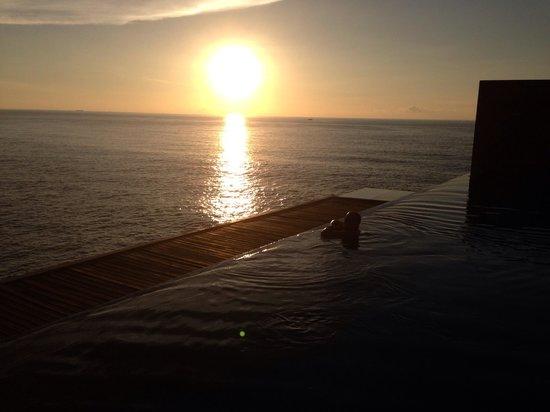 Impiana Private Villas Kata Noi: Coucher de soleil....