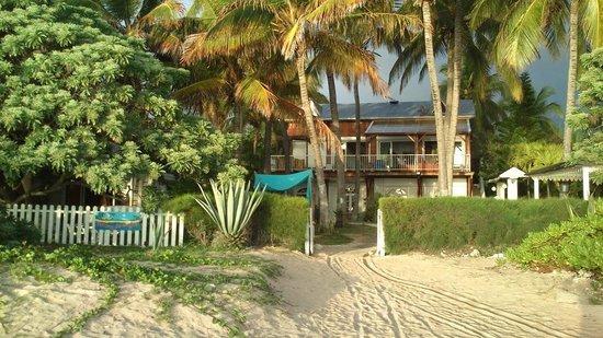 La Maison du Lagon: maison vue de la plage