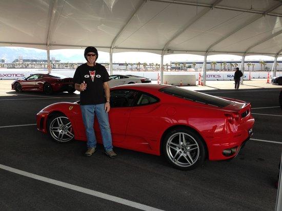 Exotics Racing: Still smiling after driving the Ferrari F430