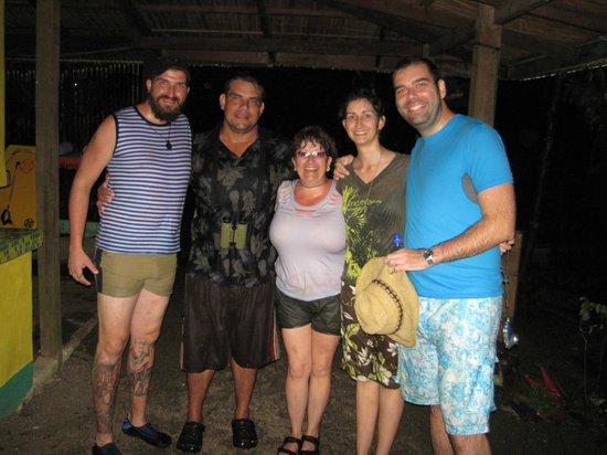 Finca Exotica Ecolodge: nos y Eric