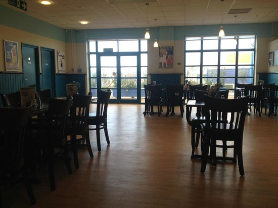 The Hornby Visitor Centre: Just the Ticket Cafe