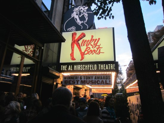 Kinky Boots on Broadway: Broadway Marquis