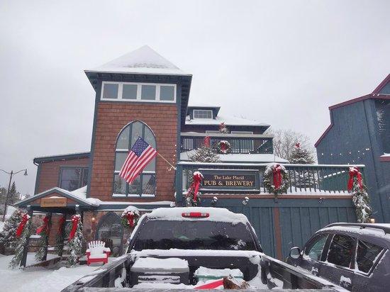 Lake Placid Pub & Brewery: New exterior