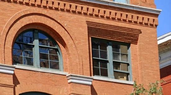 The Sixth Floor Museum at Dealey Plaza: the window of the sixth floor