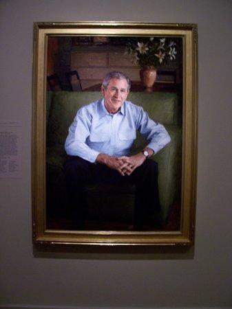 National Portrait Gallery : President Bush