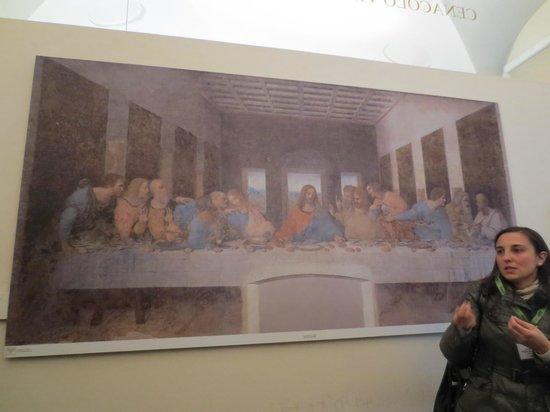 Sainte-Marie-des-Grâces (Santa Maria della Grazie) : Introduction to the guided excursion
