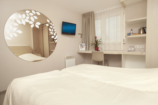 Kyriad Deauville - Saint Arnoult : chambre