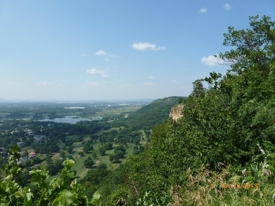 The View From Grandad Bluff Picture Of Grandad Bluff La