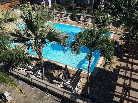 Hotel Les Creoles: vue du balcon
