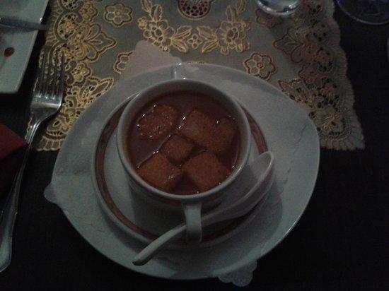 Ginti Indisches Restaurant: Tomatensuppe