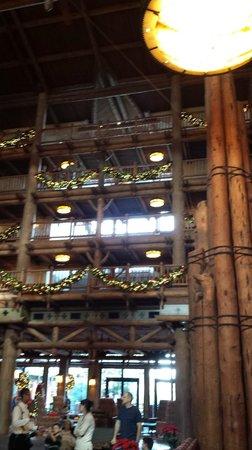 Boulder Ridge Villas at Disney's Wilderness Lodge : Lobby area