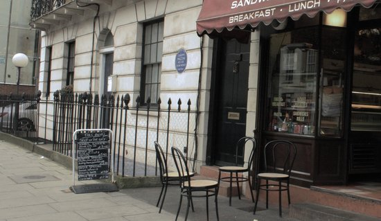 Speedy S Sandwich Bar And Cafe London Menu