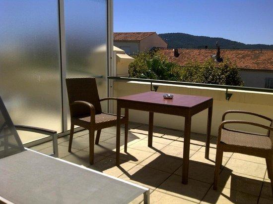 Hotel Casino des Palmiers: Great terrace