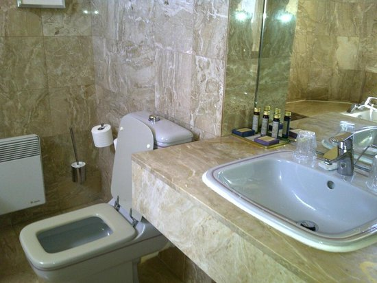 Hotel Casino des Palmiers: Bathroom