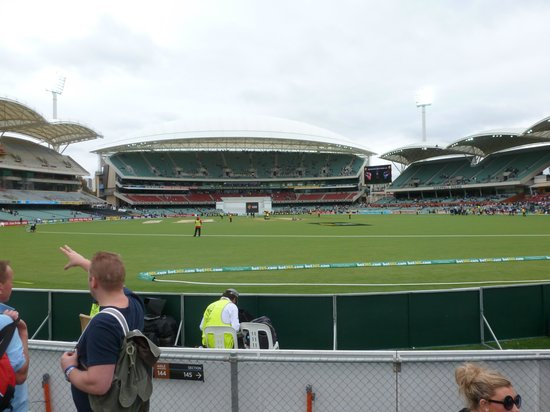 Adelaide Oval: View from the Hill