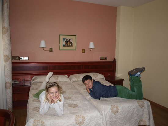 Hotel Montecarlo: Habitación