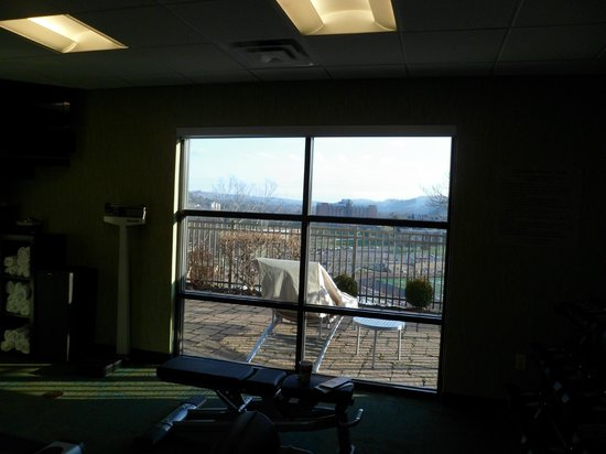 SpringHill Suites Wheeling: view from gim