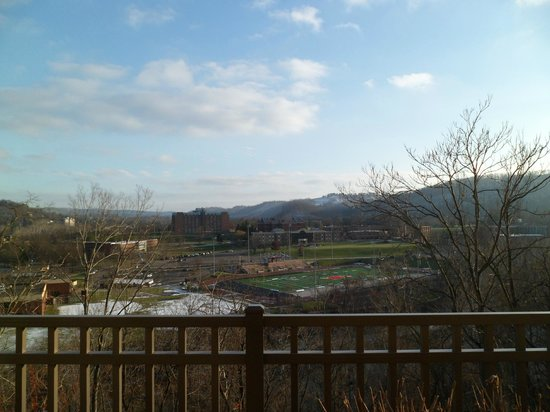 SpringHill Suites Wheeling: view from hotel