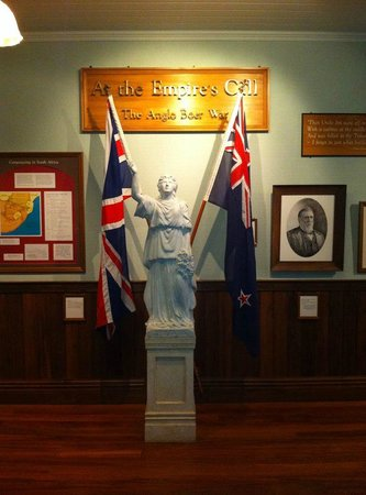 Musée du mémorial de guerre d'Auckland : This says a lot about New Zealand's origins and emerging identity in the 20th century