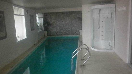 Hotel Tamanacos: La ducha escocesa al lado de la piscina no funcionaba
