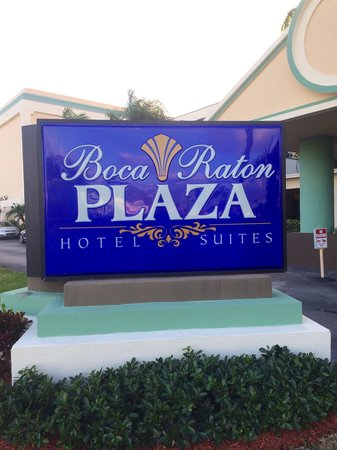 Boca Raton Plaza Hotel and Suites : Very well kept