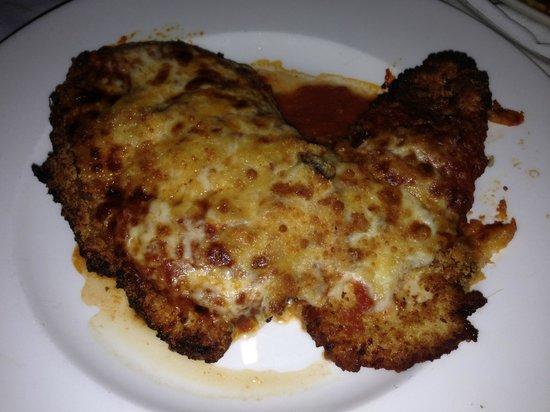 Petterino's: Chicken Parmigiana