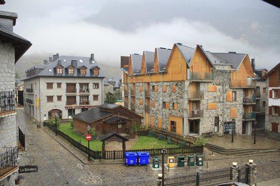 Hotel Ciria: vista desde el balcón de la habitación