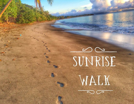 Blue Osa Yoga Retreat and Spa : Another early morning amazing beach walk