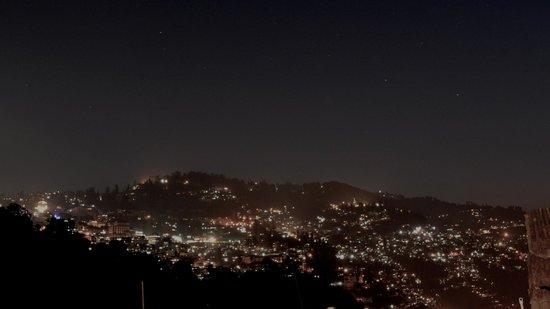 Nestle Homestay : View of Darjeeling town from terrace