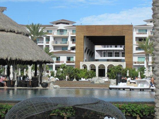 Cabo Azul Resort : Central resort and wedding chapel