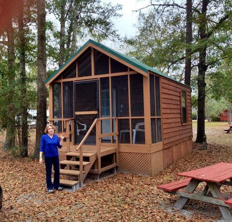 Our Furnished Cabin at Okefenokee Pastimes