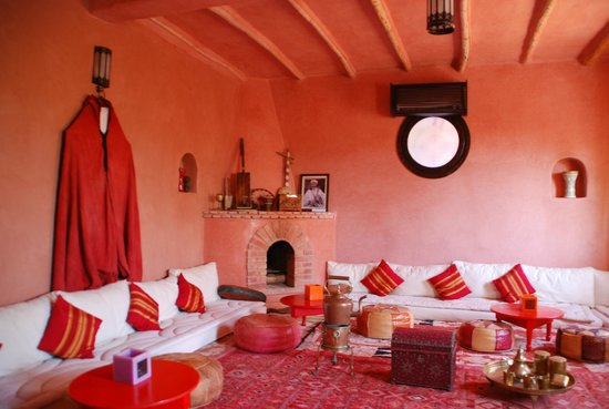 Riad Atlas Kasbah : Salon