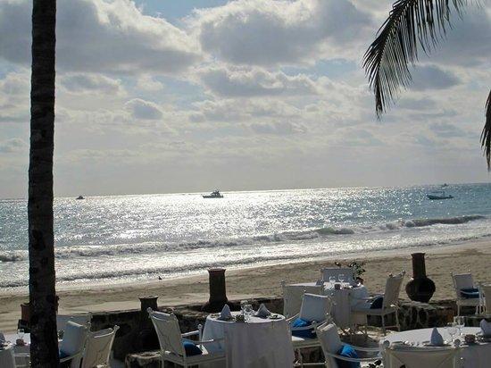 Belmond Maroma Resort & Spa: outside dining