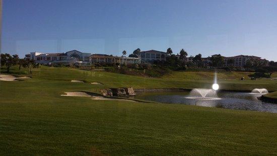 Monarch Beach Resort : Golf course (cart path only restiction here)