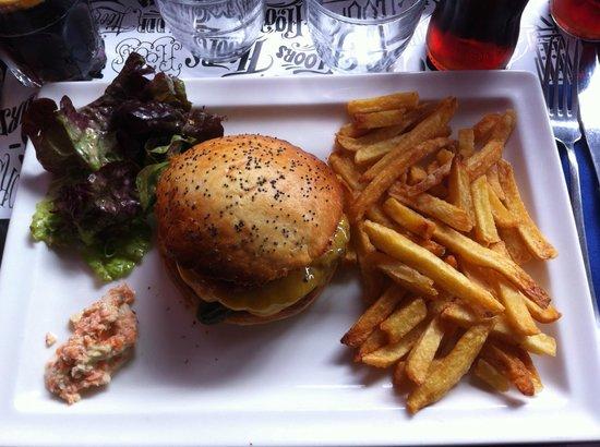 Burger Frites Et Colslaw Picture Of Le Floors Paris