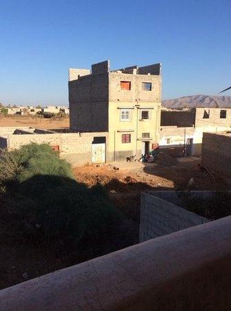 Riad Ain Khadra: vista dalla terrazza