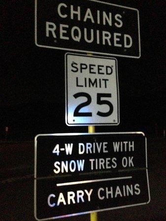 BEST WESTERN Cajon Pass : In winter the roads can be dangerous nearby