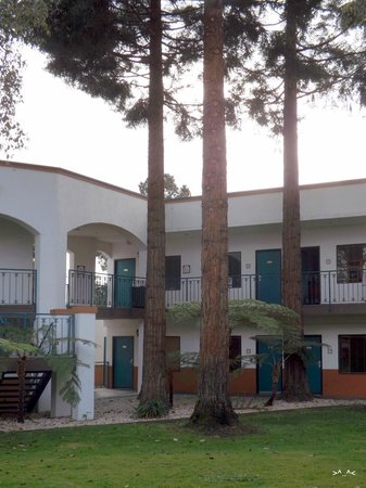 Oxford Suites Pismo Beach: Courtyard in front of 170