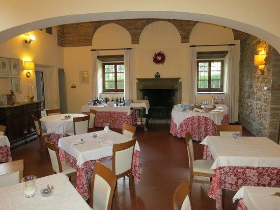 Lo Spedalicchio : Restaurant and breakfast room