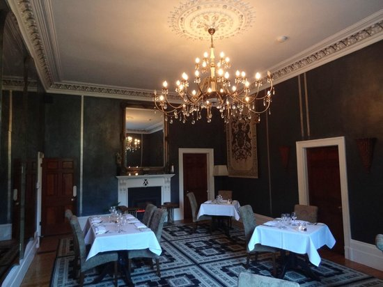 Quamby Estate: The dining room