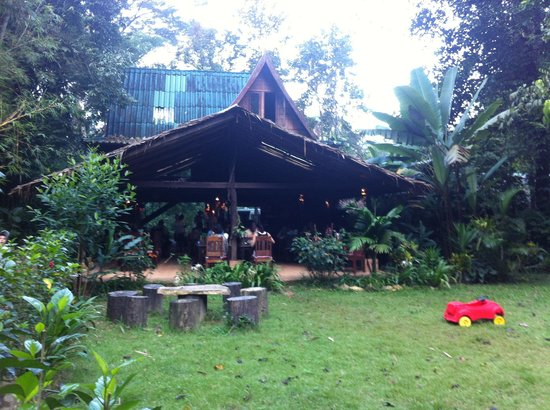 Our Jungle House: The restaurant and main bar