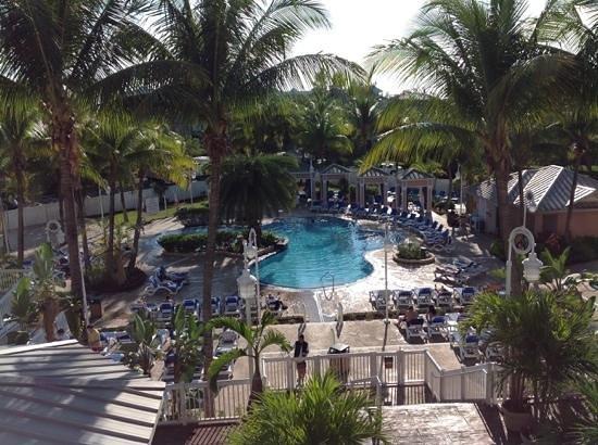 DoubleTree by Hilton Hotel Grand Key Resort - Key West: From our balcony