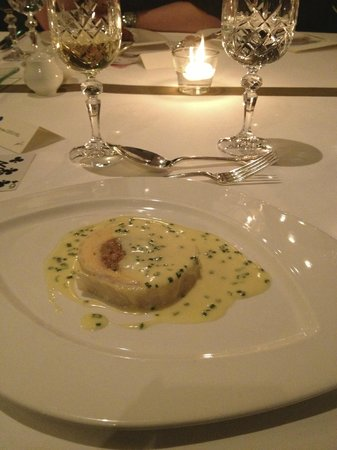 Windows Restaurant at Hotel d'Angleterre: main dish