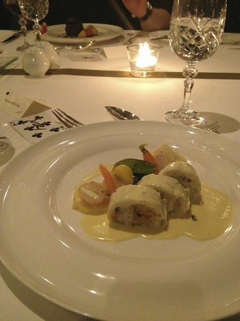 Windows Restaurant at Hotel d'Angleterre: starter