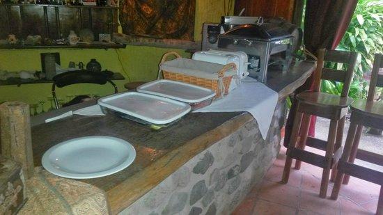 """Hotel Celaje: """"buffet"""""""