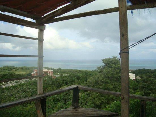 Media Luna Resort & Spa: Vue sur la montagne
