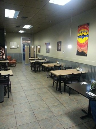 Grill on Gage: Dining Area