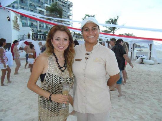 Hyatt Zilara Cancun: excelentes  anfitriones