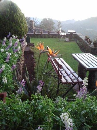 Villa Retreat: View in front of restaurant