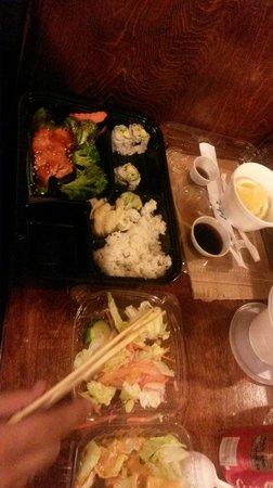 Umi Sushi: Buen plato de sushi